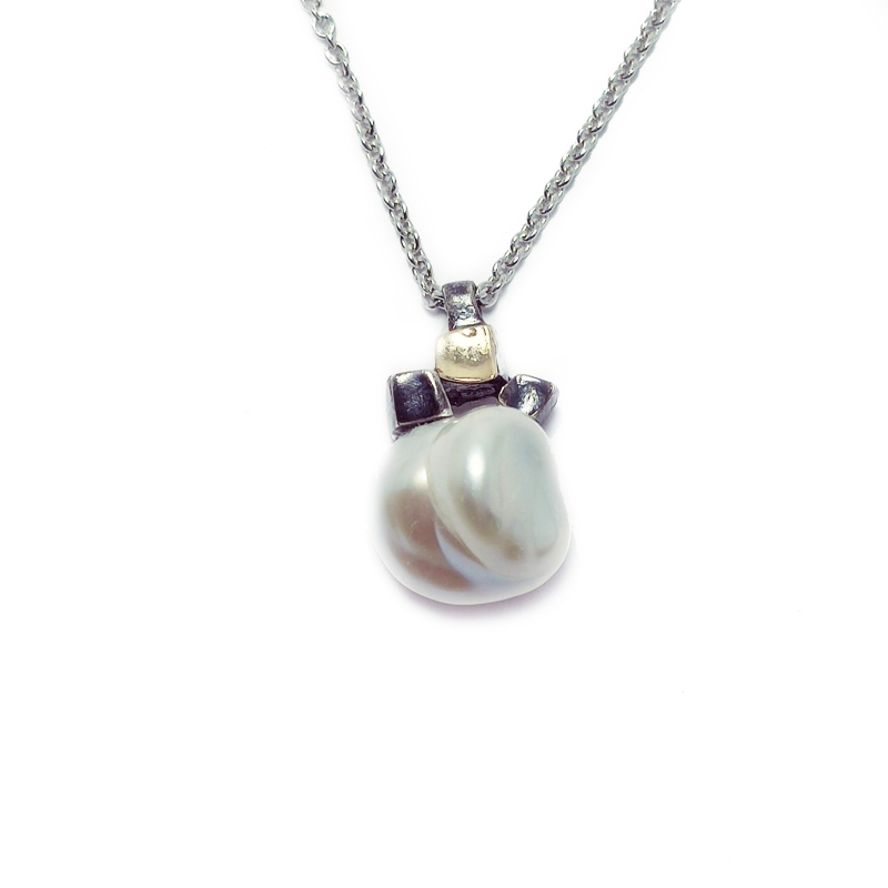Penjoll plata, or i perla