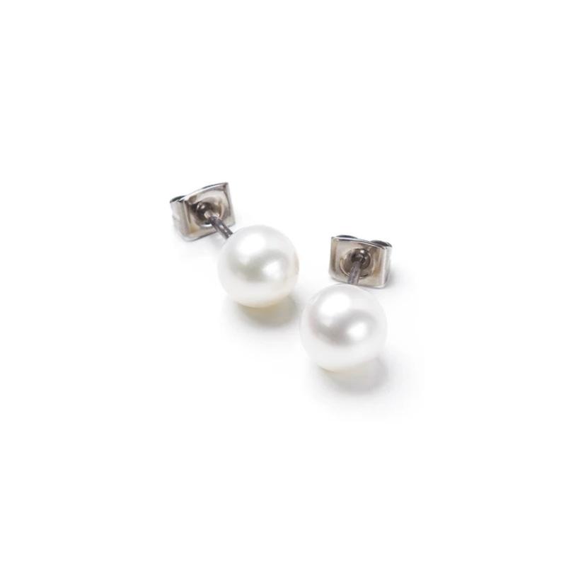 Arracades perla i titani