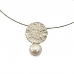 Penjoll plata i perla
