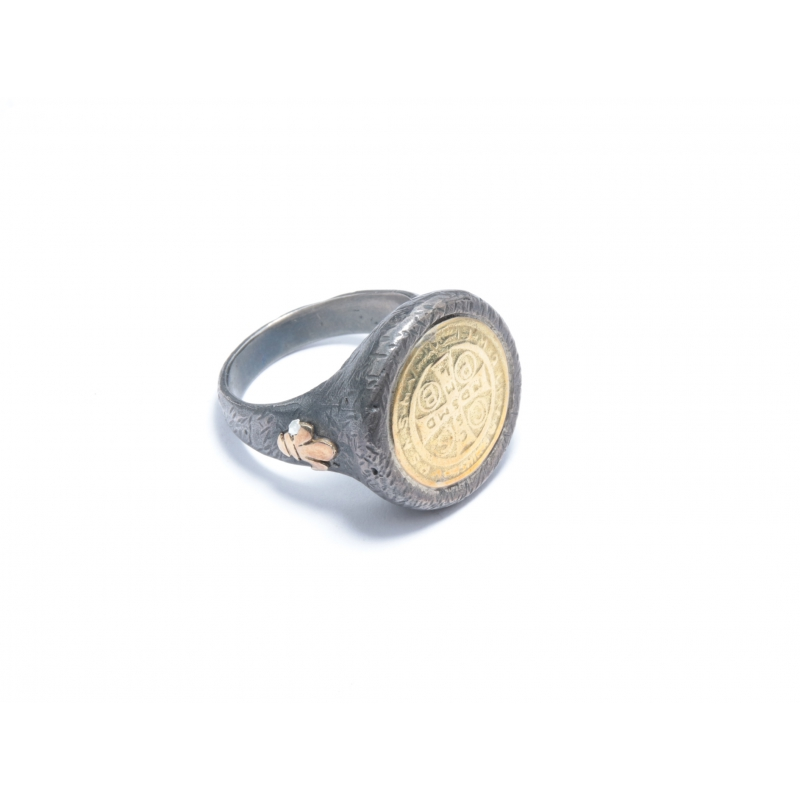 Anell plata ennegrida i or