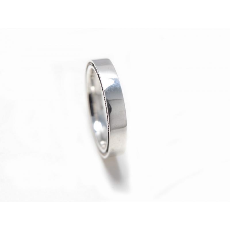 Aliança recta de 4 mm